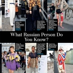 London Fashion Week Russian Mind